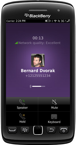 Viber brings free calls to BlackBerry OS 5 and OS 7