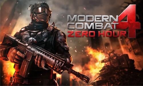 Modern Combat 4: Zero Hour reaches Windows Phone 8