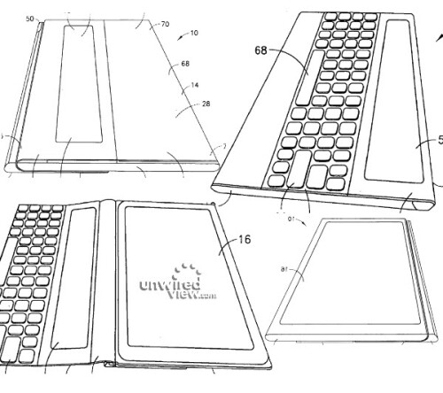 "Nokia ""Apparatus Cover with Keyboard"" patent"