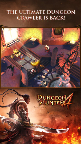 Dungeon Hunter 4 arrives on iPhone, iPad and Android