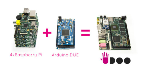 UDOO Android/Linux box conquers Kickstarter, bridges the gap between Arduino and Raspberry Pi