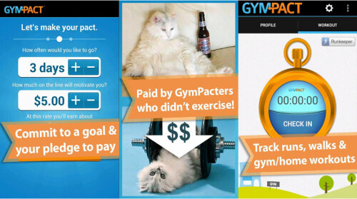 Get paid to exercise – a good incentive, right?