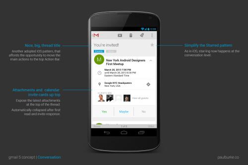 Gmail concept renders look amazing