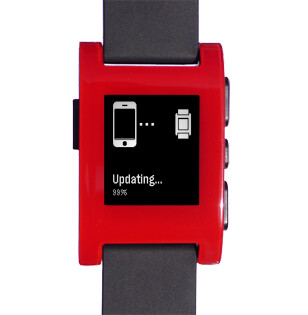 The Pebble smartwatch received a firmware update
