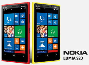 The Nokia Lumia 920 is the platform's flagship model