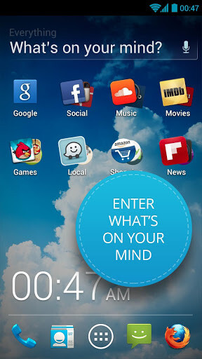 Everything.me launcher images