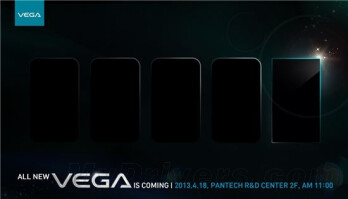 Pantech Vega Iron to take on the Galaxy S4 come April 18