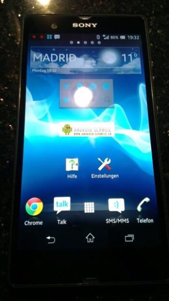 The Sony Xperia Z
