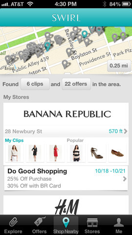 Swirl – Your Personal Shopping Assistant