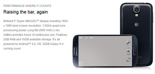 Samsung Galaxy S4 to launch April 30th at AT&T