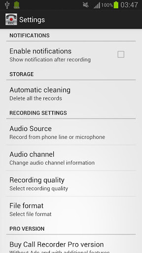 Call Recorder ($5.12 for the Pro version)
