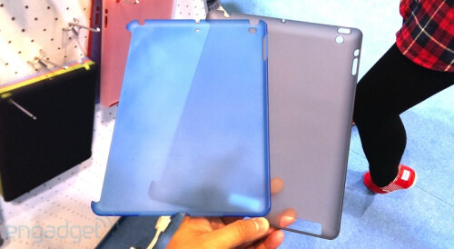 Alleged case molds and cases for the Apple iPad 5
