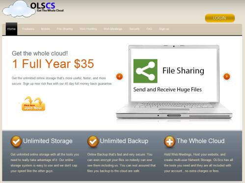 OLS-CS - Online Storage Solution