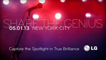 """LG to hold a """"Share the genius"""" event on May 1"""