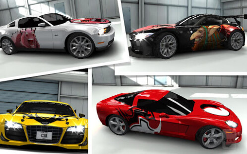 CSR Racing now on Android