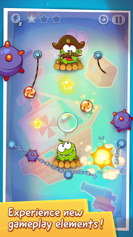 Cut the Rope: Time Travel arrives for iPhone, iPad