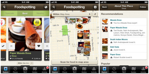 Bonus: Foodspotting