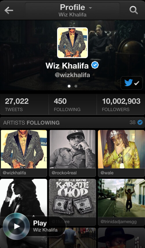 Twitter Music app launches today: iPhone first