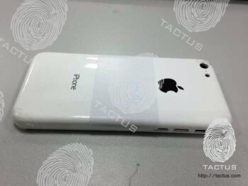 This could be the cheap iPhone's back plate