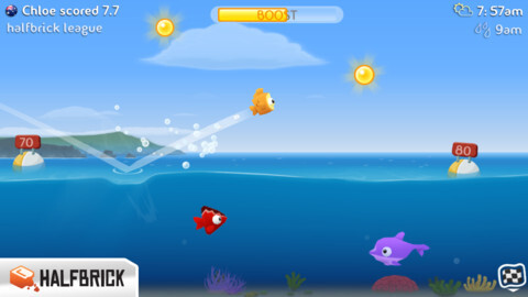 Fish Out of Water! by Halfbrick Studios splashes into the App Store