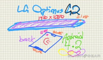 Optimus G2 in Q3 will be 'something unique' says LG, rumor hints at keys on the back and super thin frame
