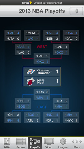 NBA Game Time iPhone and iPad app updated for playoffs