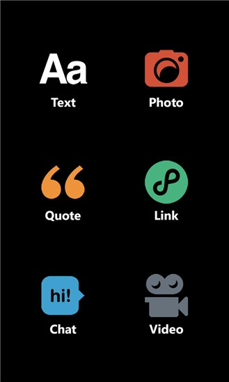Tumblr for Windows Phone 8