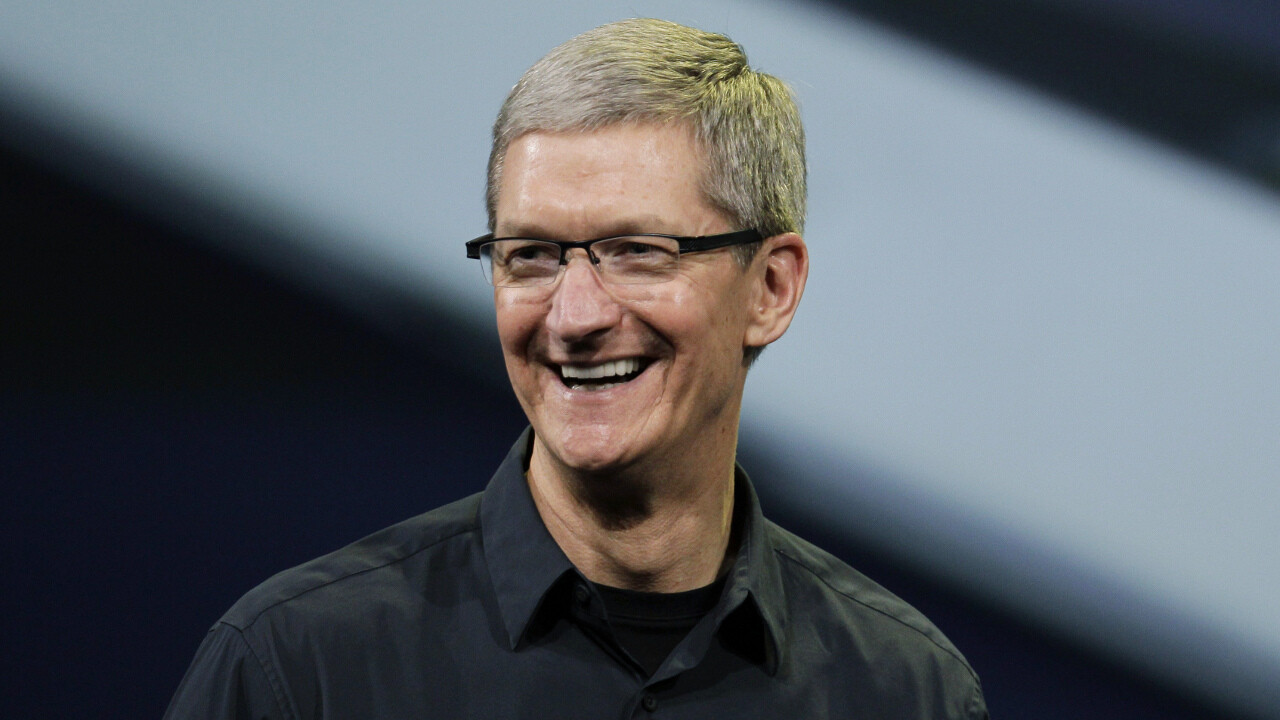 tim cook big CharityBuzz is auctioning a coffee break with Apple CEO