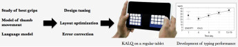 Researchers create innovative KALQ keyboard for faster thumb-typing, Android app coming in May