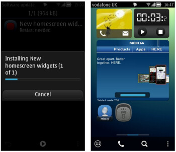 Nokia is pushing out updates for certain Symbian Belle models