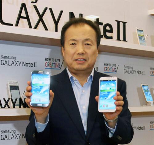 Samsung's J.K. Shin - J.K. Shin: It doesn't matter which processor is running your Samsung Galaxy S4