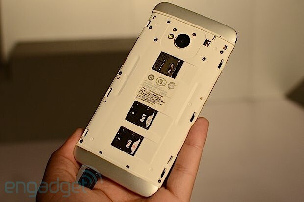 Yes we can: HTC One for Chinese carriers officially rolls with a microSD and two SIM card slots