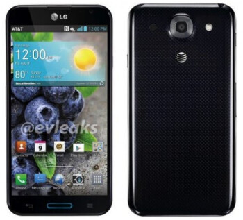 The AT&T version of the LG Optimus G Pro