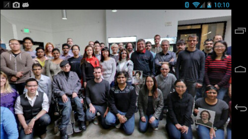 Google Glass easter egg shows off the entire development team