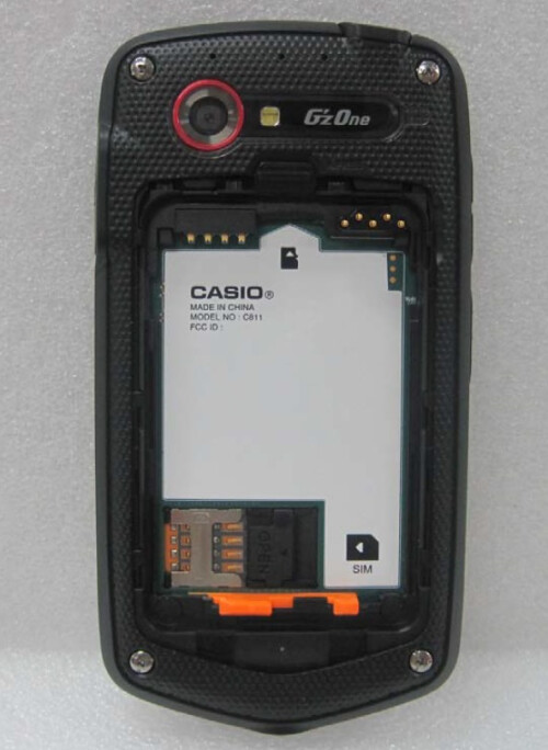 Casio G'zOne C811
