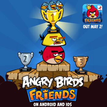 Angry Birds Friends is coming to iOS and Android on May 2nd