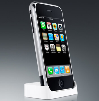 The soon to be obsolete first-generation Apple iPhone