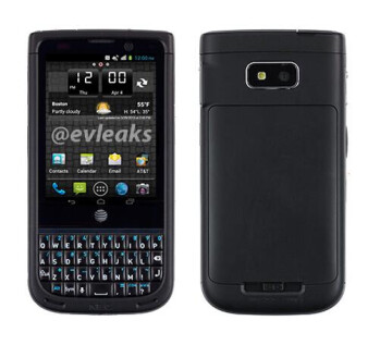 Leaked NEC Terrain for AT&T packs a QWERTY keyboard, runs Android