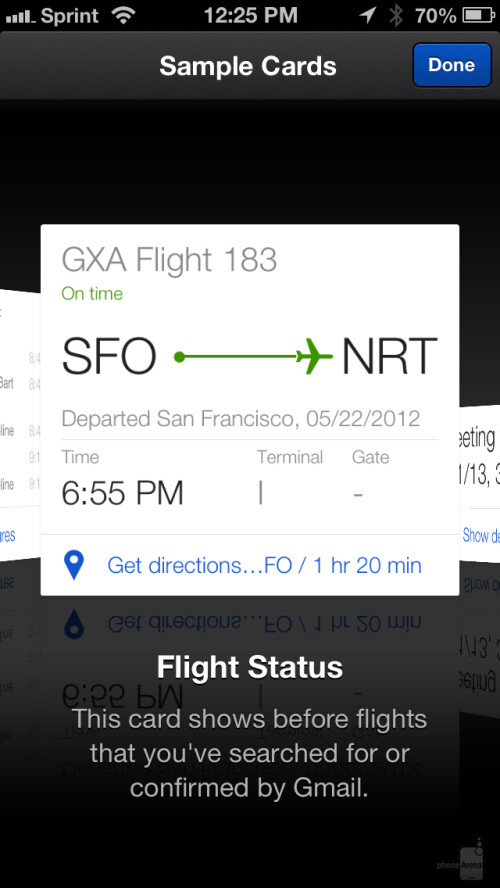 Google Now for iOS hands-on