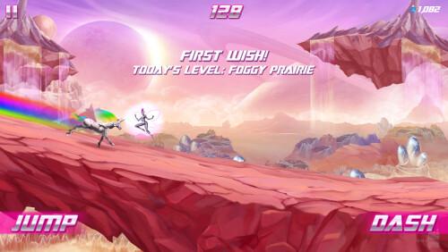 Robot Unicorn Attack 2 hands-on