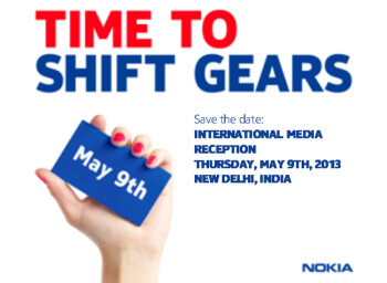 "Nokia says it's ""time to shift gears"", schedules press event on May 9"