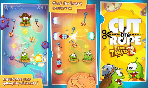 Cut The Rope: Time Travel - Android, iOS - Free/$0.99