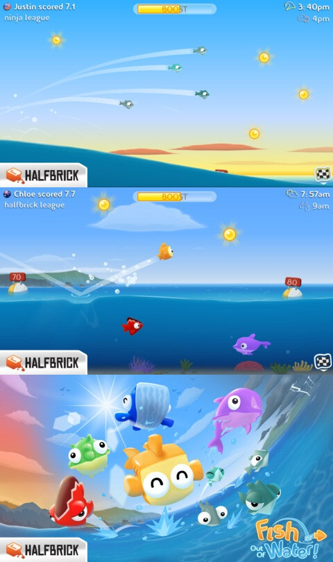 Fish Out of Water - Android, iOS - $0.99