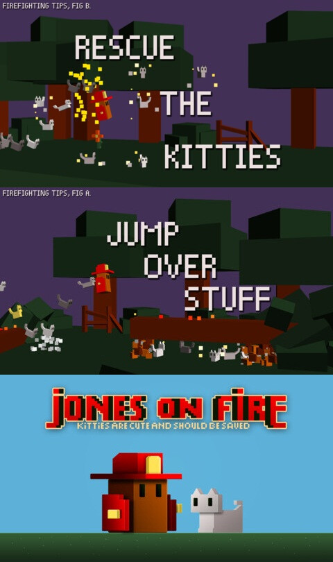 Jones on Fire - Android, iOS - $1.99