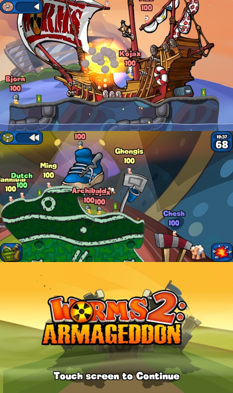 Worms 2: Armageddon - $4.99 - Android, iOS