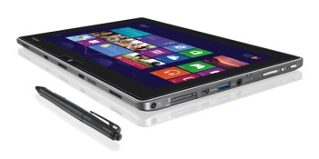 "Toshiba WT310 fits an ultrabook into 11.6"" Full HD tablet with Windows 8 Pro, is mum on the price"
