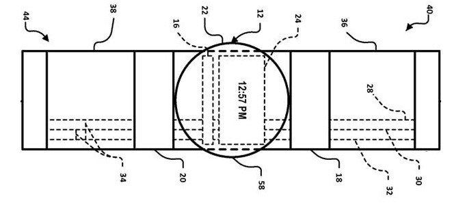 Google patents smartwatch concept with touch sensitive wristband