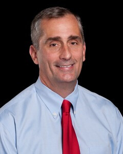 Brian Krzanich joined Intel in 1982 and plans a faster push into mobile - Intel's CEO Paul Otellini to step down on May 16th, engineer to take the helm