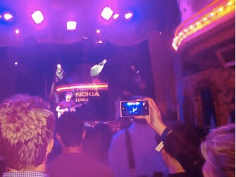 Nokia Lumia 928 spotted at a private Nokia concert - Has the Lumia 928 been spotted at a private Nokia concert?