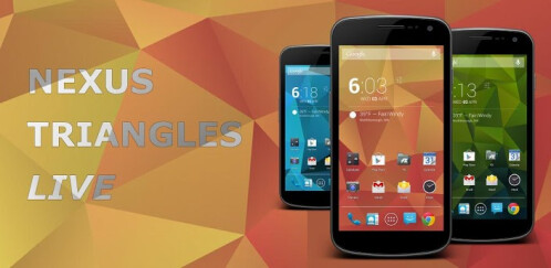 Nexus Triangles LWP - Android - $0.99